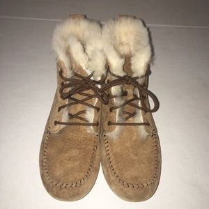 UGG Women's Chickaree Chestnut Slipper size US 8